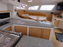 Miami sailing charters galley
