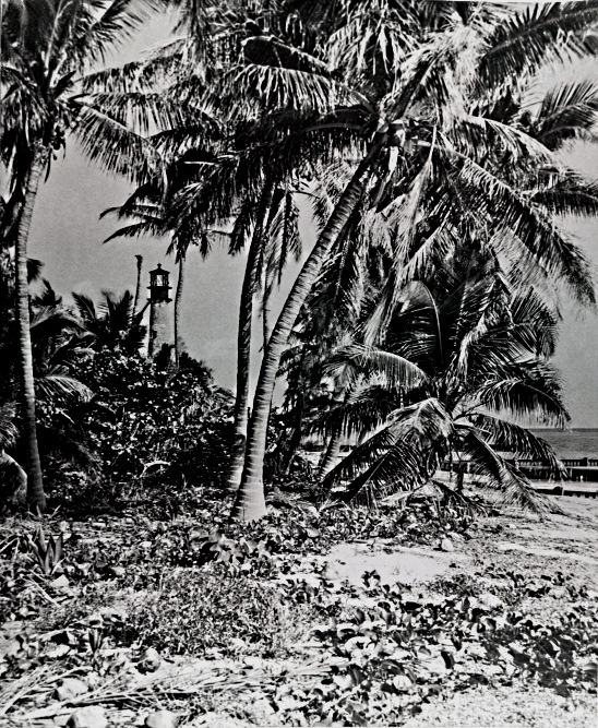 1928 Cape Florida Lighthouse as taken from the west and south