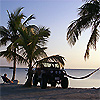 Jeep hammock on virginia key beach