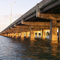 Bear Cut Bridge - Virginia Key to Key Biscayne